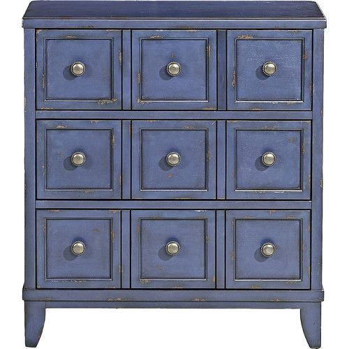 3 Drawer Accent Chest [can I paint mine to look like this?]