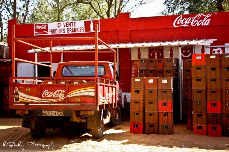 Coke Station in Niamey, Niger    Niamey, Niger 2012