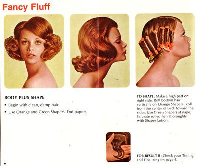 60s pictures | Get your rollers out and get your hair in a Fancy Fluff!