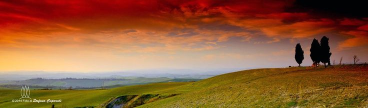 Tuscany countryside Earth and Fire
