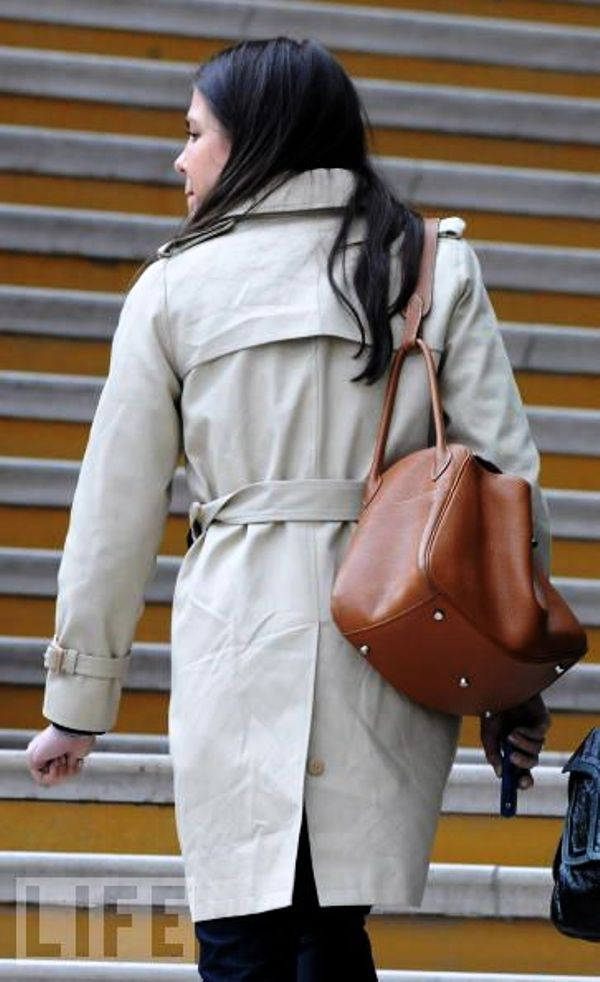 Charlotte Casiraghi carries a Hermes Lindy