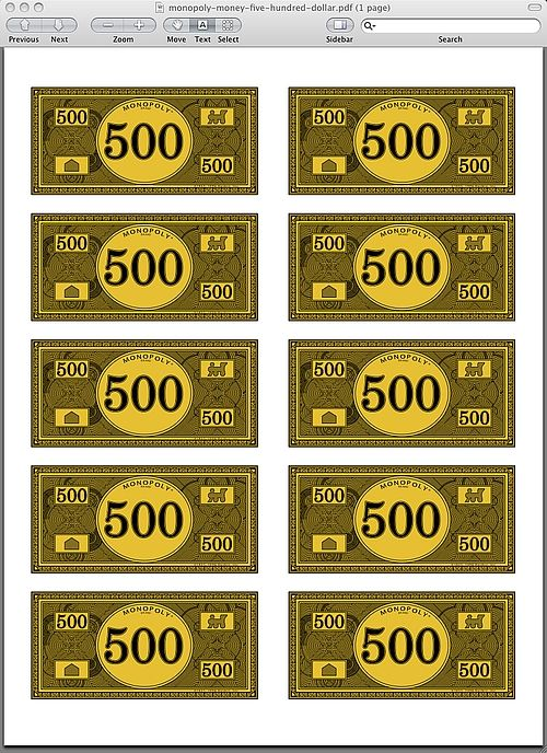 18 best images about monopoly game on pinterest 50 the for Monopoly money templates