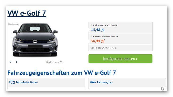 VW e-Golf 7 http://ift.tt/2iTEYGA  Reichweite:300 km Batterie:358 kWh PS (KW):136 PS (100 kW) Hubraum:keine Angaben  Antriebsart:Frontantrieb Getriebeart:Automatik Kraftstoffart:elektrisch Energieverbrauch (kombiniert):127 kWh/100km CO2-Emission:0 g/km Effizienzklasse:A Abgasnorm:keine Angaben  Versicherungsklasse:Haftpflicht: 15 Teilkasko: 19 Vollkasko: 20 #OnlineMagazine #4@yk@ #cmagency4ayka #advertisingAgency #worldSoSmall #werbung2euro #Germany #CzechRepublic #France #China…