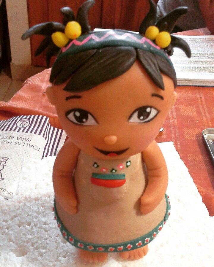 #Medialuna #PakaPaka #Adornodetorta #PorcelanaFria