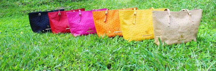 Valery Bag Ostrich Skin  Tatiana Rubio Design