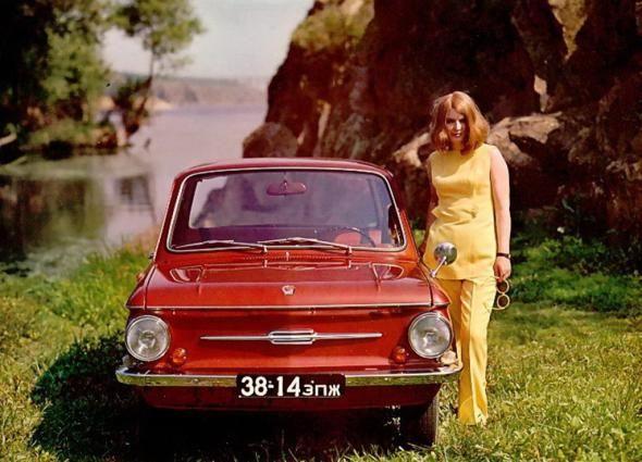 """набор открыток """"Легковые автомобили СССР"""""""