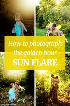 5 tips to photograph sun flare during the golden hour!