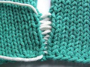 Invisible mattress stitch seaming tutorial. Pinning this for later reference, since I'm so sucktastic at seaming!