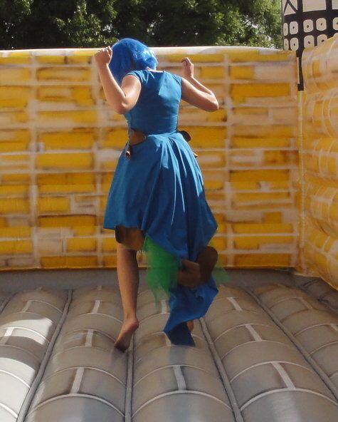 Diy Caterpillar costume from Alice in wonderland
