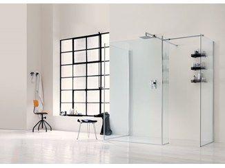 Parete per doccia in vetro WALK IN 6mm - 1 - INDA®