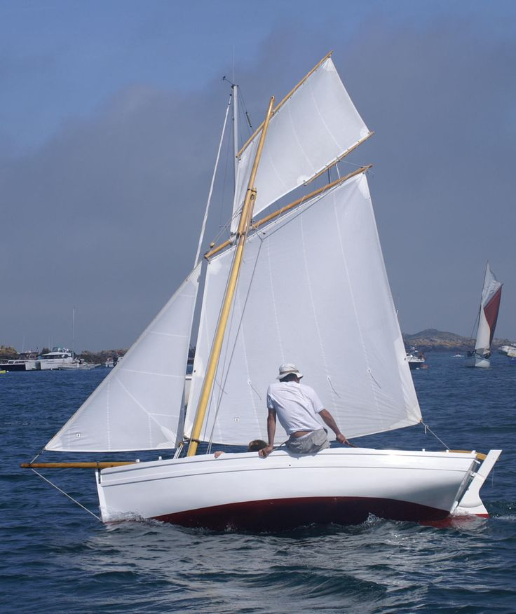 Jigsaw sailing in chausey 2006