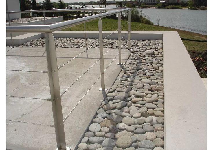 Las 25 mejores ideas sobre escalera aluminio en pinterest - Barandas de aluminio ...