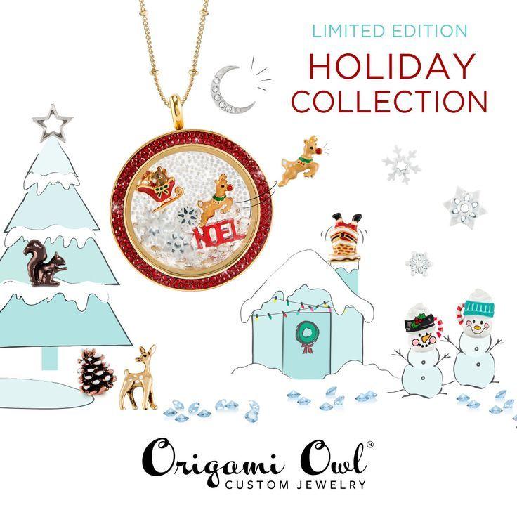 ORIGAMI OWL SWAROVSKY CRYSTALS CHRISTMAS 2018