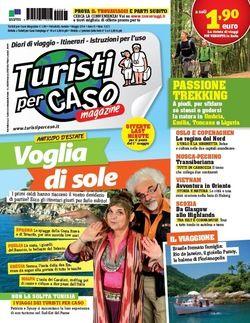 Turistipercaso Magazine di maggio in edicola - Voglia di sole?