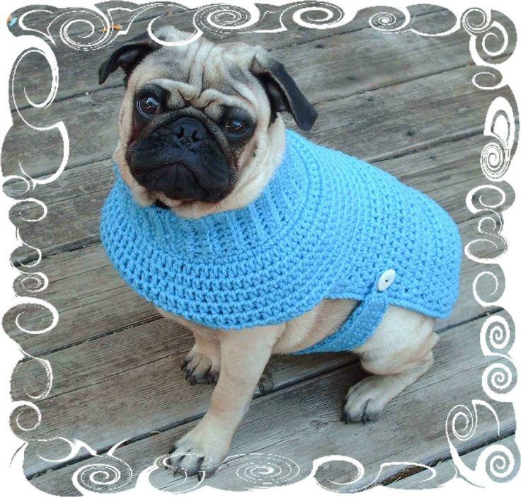 Crochet+Sweater+Patterns   Kiwi's Kozy Crochet Dog Sweater PATTERN by hmcquigg on Etsy