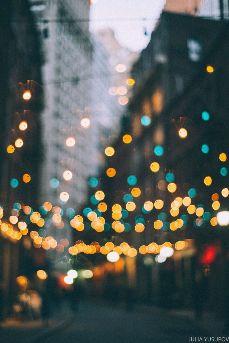 juliayusupov: bokeh dreams