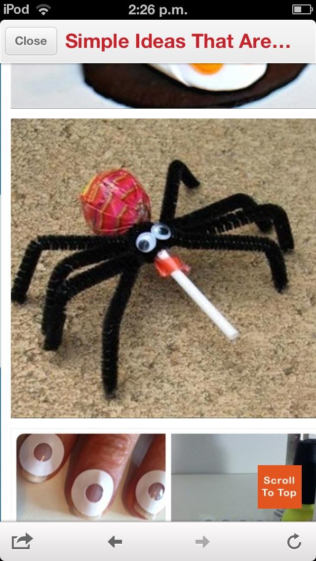 Halloween Spider Sucker