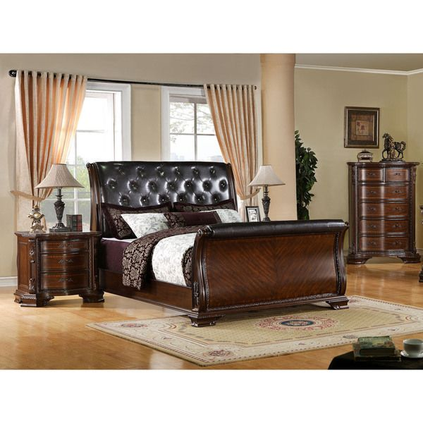 Best 25 Cherry Sleigh Bed Ideas On Pinterest Cherry Wood Bedroom Sleigh Bed Painted And