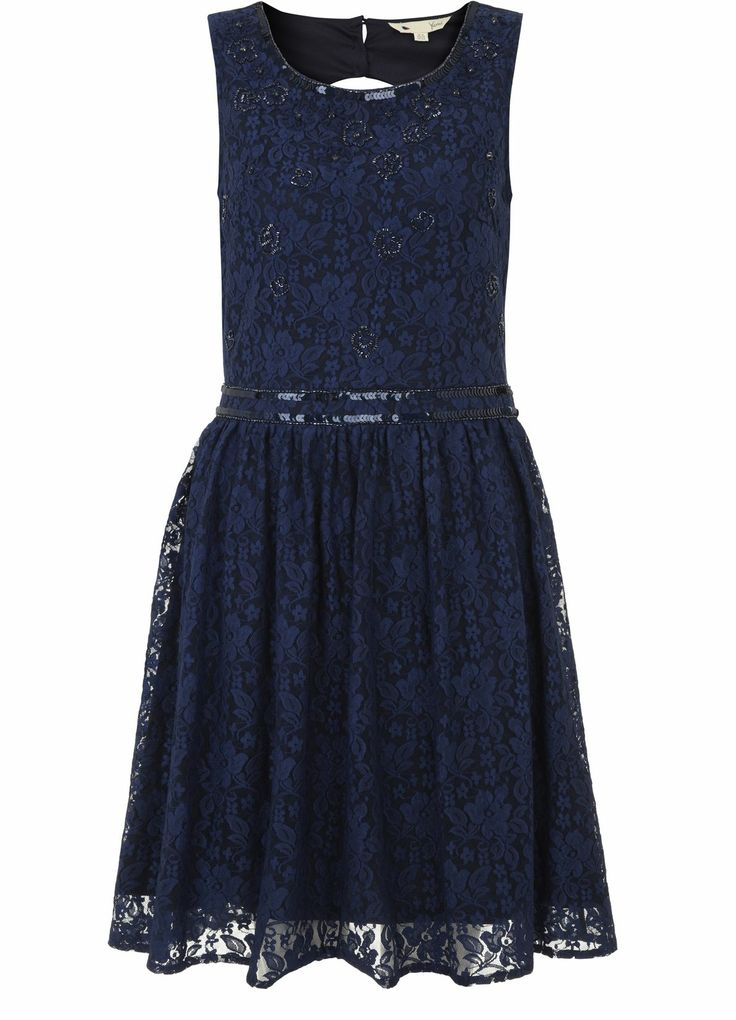 Lace and Bead Dress