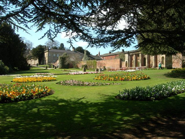 Cannon Hall from the gardens