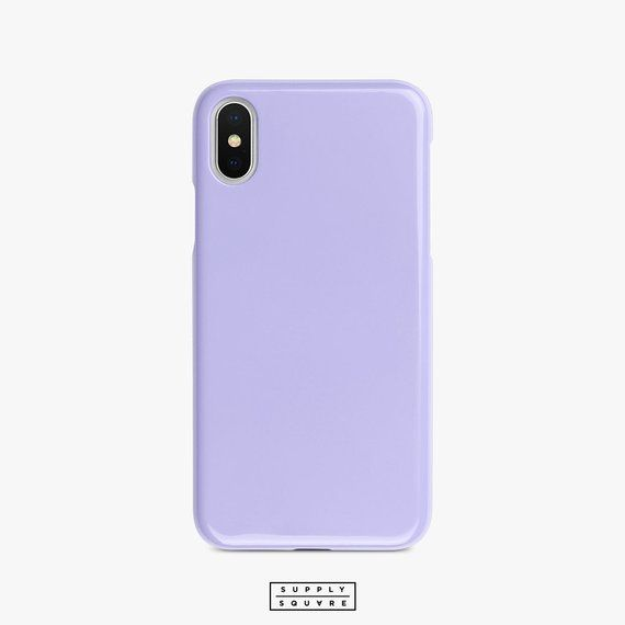 Light Purple Iphone Case Matte Gloss Iphone X Case Iphone Shell Iphone 8 Iphone 7 Iphone 6s Iphone P Purple Iphone Case Blue Phone Case Iphone Phone Cases