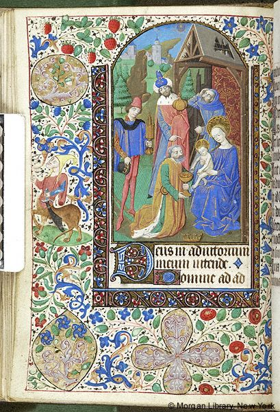 Book of Hours, MS M.1093 fol. 60v - Images from Medieval and Renaissance Manuscripts - The Morgan Library & Museum