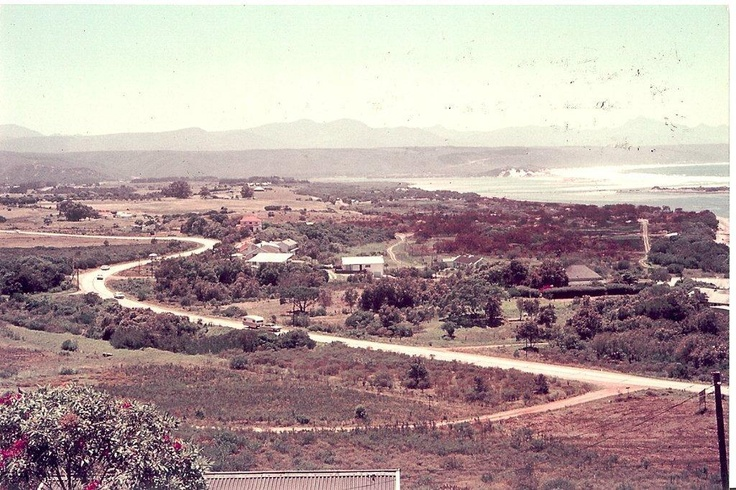 Photo Taken in 1968 overlooking Poortjies area. Approximation: From the site where Luna Lodge stands today.