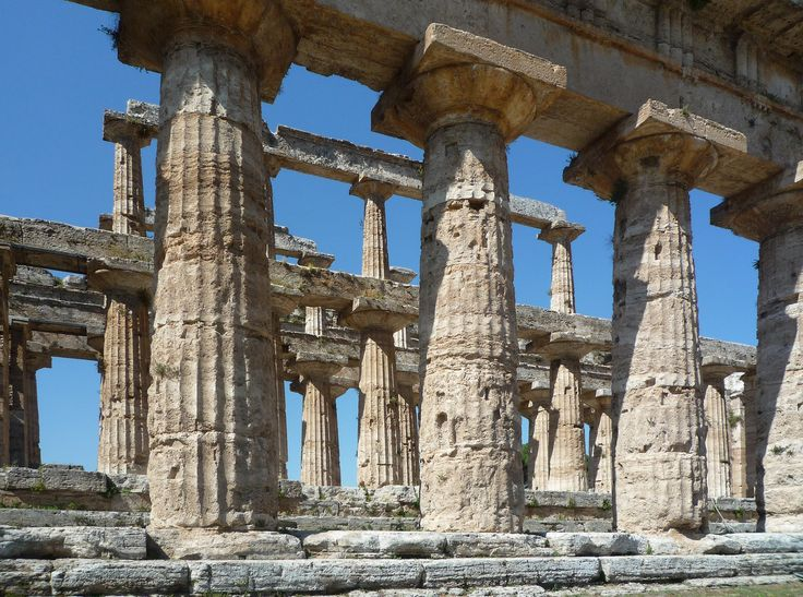 """""""Hera II"""" with view of double colonnade"""