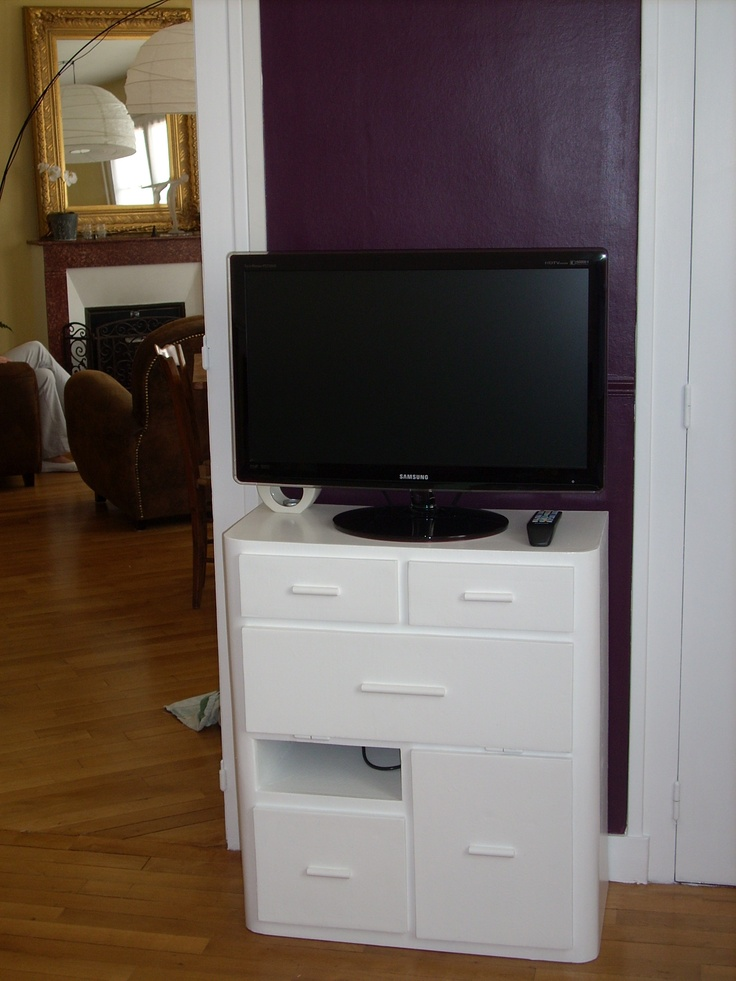 31 best meubles en carton images on Pinterest Cardboard furniture - meuble vide poche design