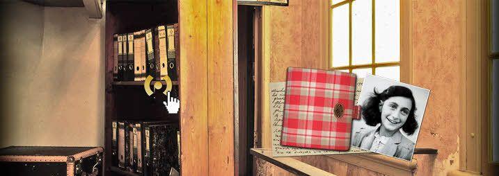 Sitio web oficial de la Casa de Ana Frank.