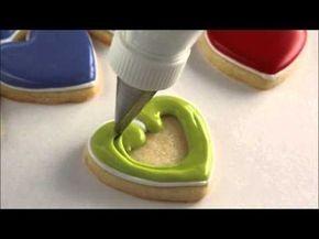 Cómo decorar galletas con glasa real