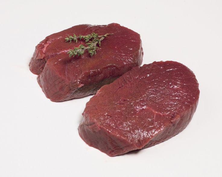 Hert steak. Hertenvlees