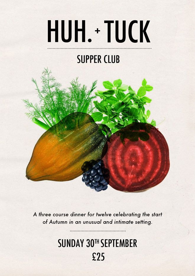 HUH. & Tuck Supper Club | HUH.