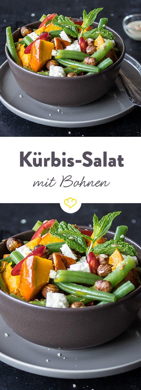 Das Rezept für Kürbis-Bohnen-Salat und weitere leckere Rezeptideen finden Sie im Springlane Magazin.