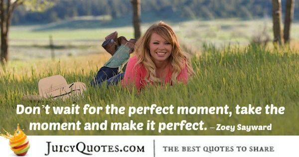 Quote About Inspiration - Zoey Sayward