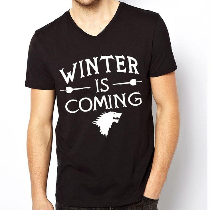 Game Of Thrones T Shirts Men V Neck Breaking Bad T-Shirt Cotton YEEZUS Man tshirt New Walking Dead Mens Tees Shirt Tops  //Price: $US $9.99 & FREE Shipping //     #gameofthrones #gameofthronestour #gameofthronesfamily  #starks