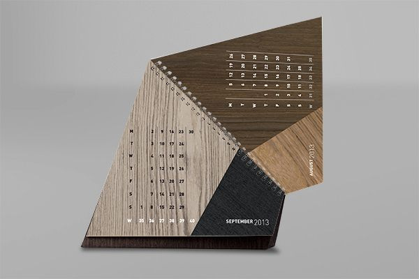 Alpi Wood - Calendar 2013 on Behance