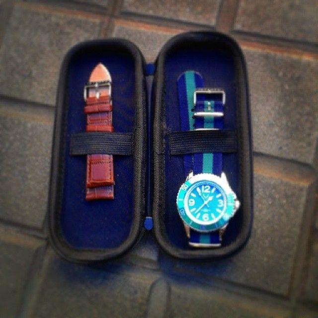 #intempo #watches #interchangeable_straps #colours #waterresistant5atm #quartz #italianfashion
