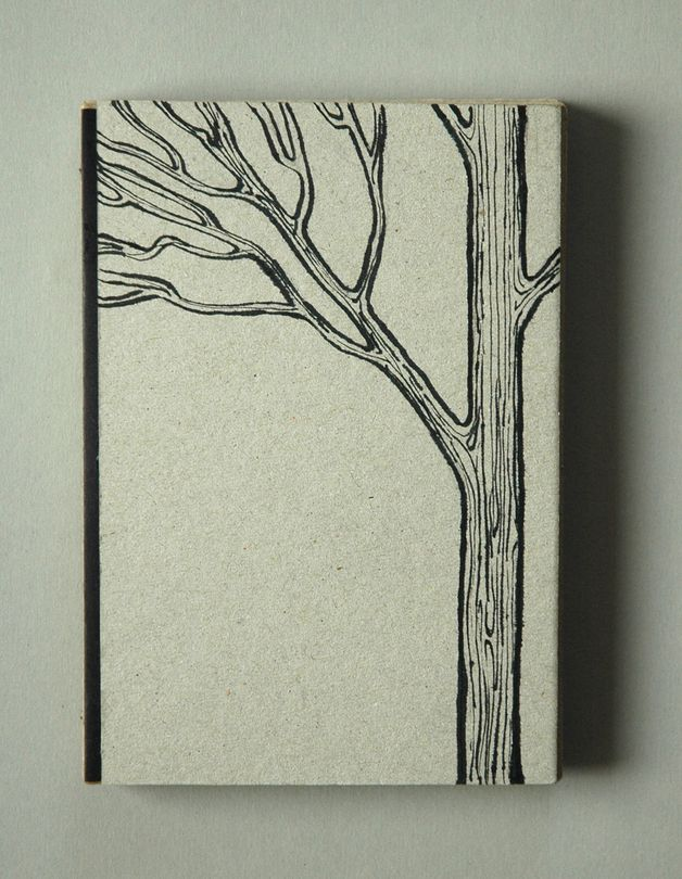 Black tree notebook by Fish without a Bicycle