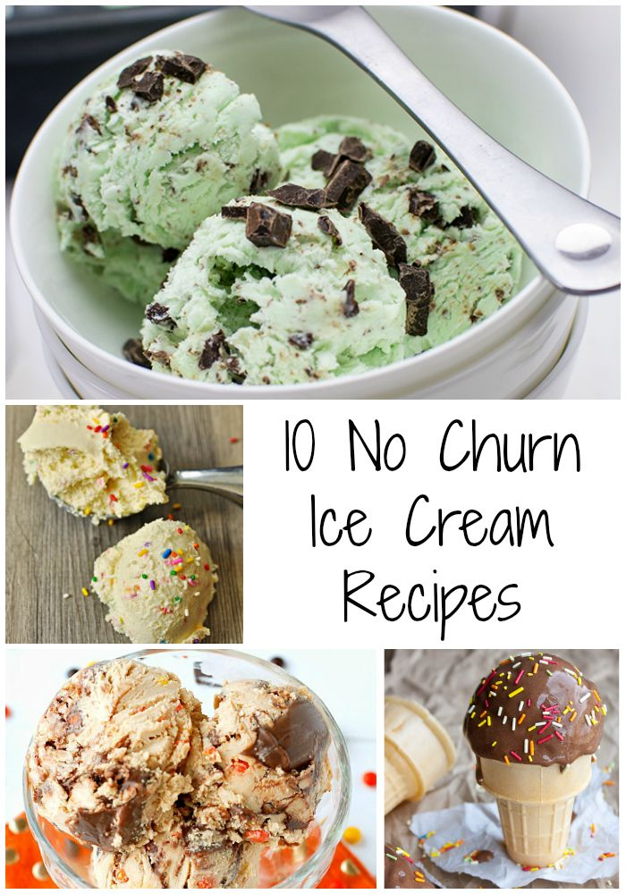 Cool off with one of these 10 No Churn Ice Cream Recipes- Love, Pasta and a Tool Belt   ice cream   desserts   no churn   recipes   cool treats  
