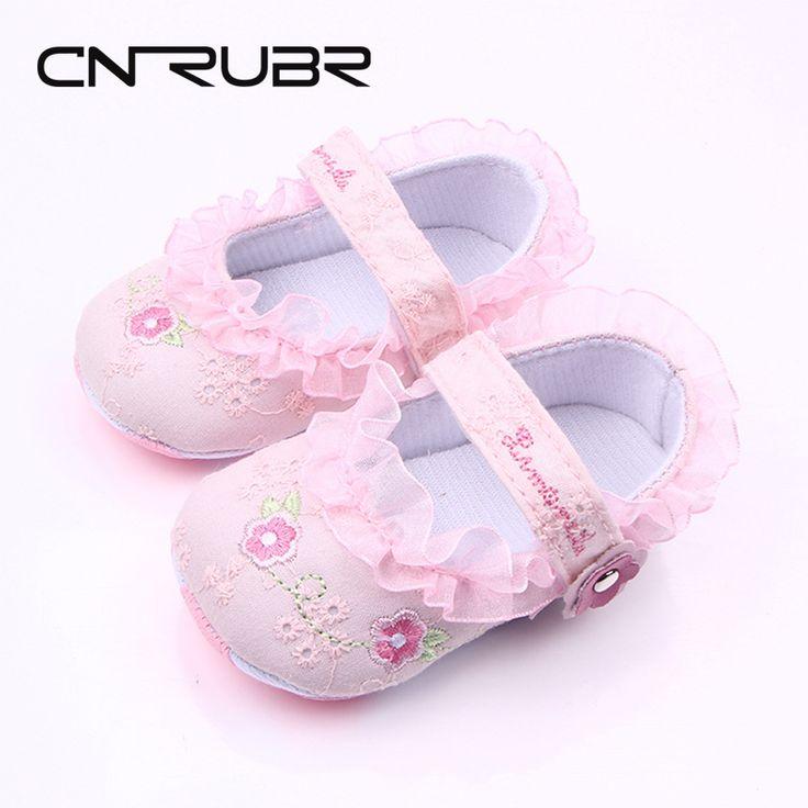 Classique Chaussures bébé Casual tout-petits nouveau-nés Pois Bébés filles d'automne à lacets First Walkers sneakers,rose,11