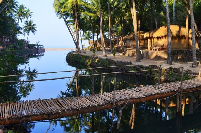 If you value tranquilly, you'll think Dwarka Eco Beach Resort at little-known Cola beach in south Goa is paradise found!