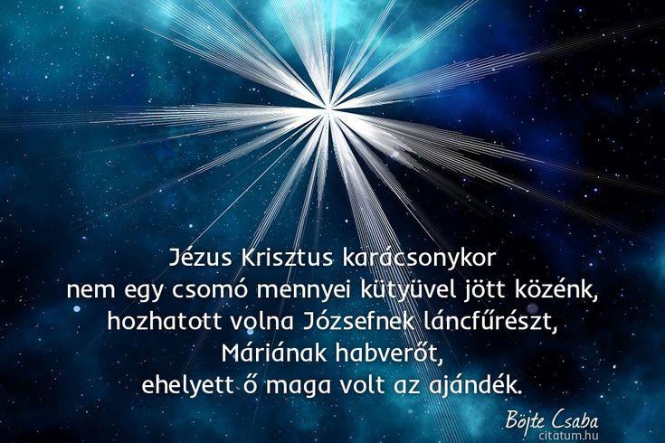 Böjte Csaba #idézet #karácsony