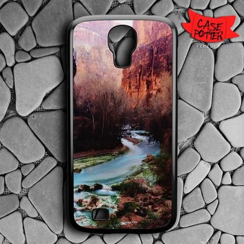 Havasu Canyon Creek Samsung Galaxy S4 Black Case
