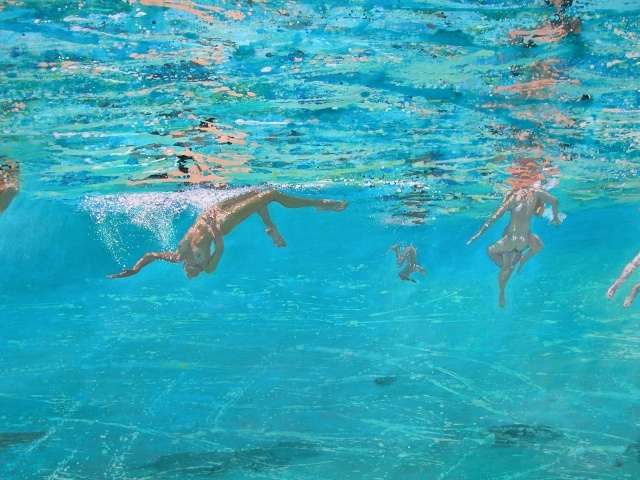 Maria Filopoulou, swimmers