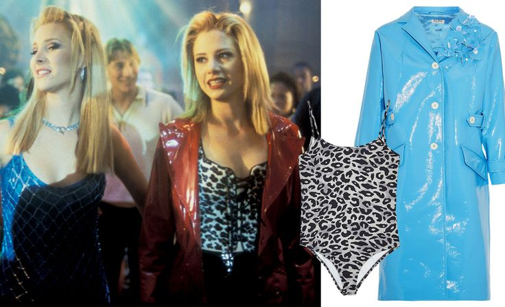 20 Years Later, Romy and Michele Are Still Setting Style Trends - A STATEMENT COAT from InStyle.com