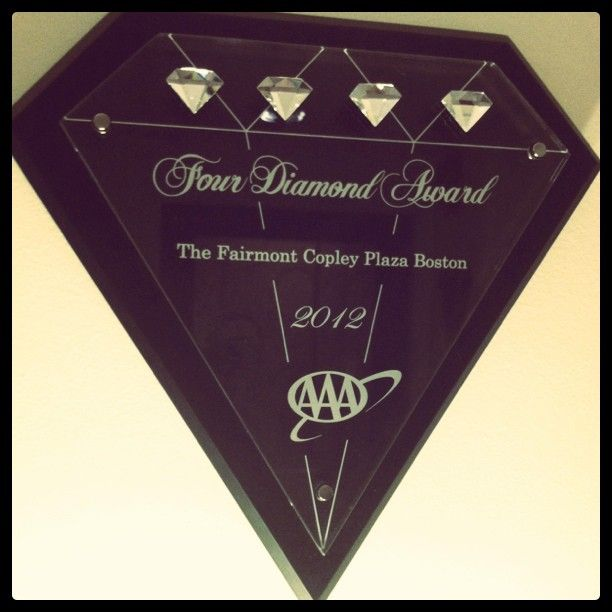 AAA Four Diamond Award #hotelsDiamonds Awards, Awards Hotels