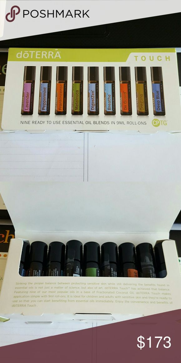 BRAND NEW doTERRA touch kit - ALL 9 SEALED I never used my touch kit as I have all the oils already. All rollers are SEALED. Accessories