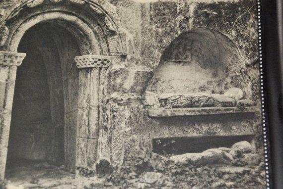 Jose Ortiz Echague 1943 religious Intaglio prints of photos from spain Espana Mystica catholic San Pedro De Rocas Galicia