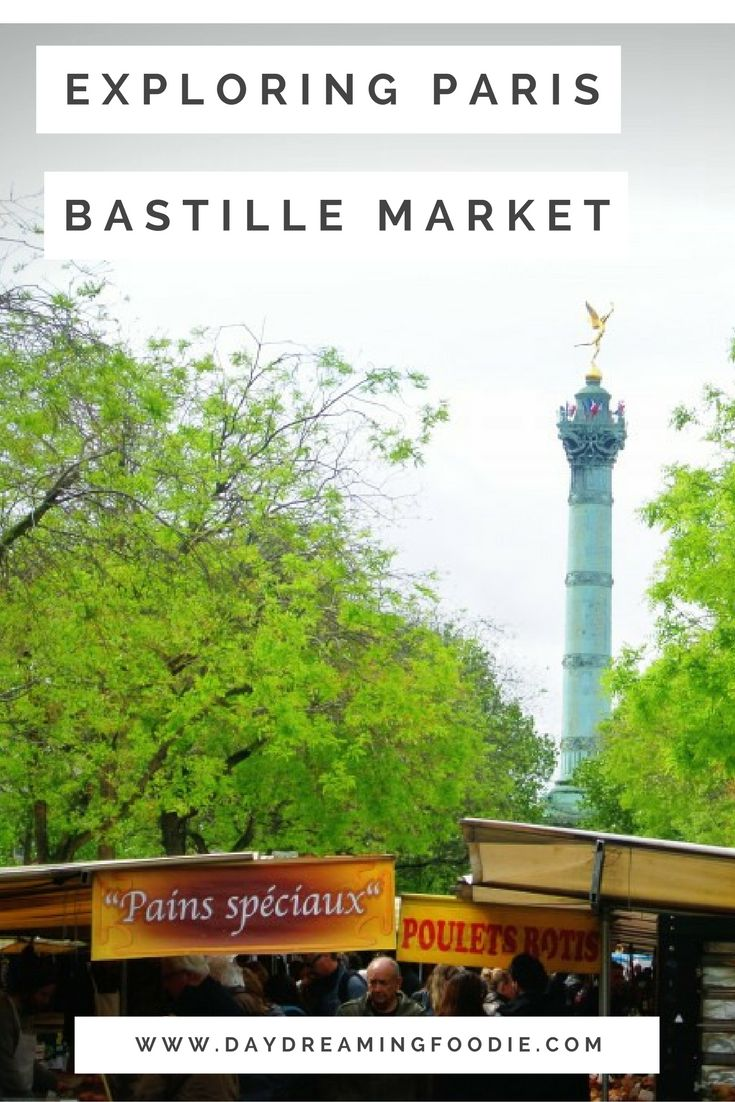 One of my very favourite days in Paris. Actually my very favourite day in Paris!  Bastille Market / Marché Bastille is one of the largest markets in Paris and spans the length of Boulevard Richard Lenoir twice a week. A must visit for an foodie trip to Paris!